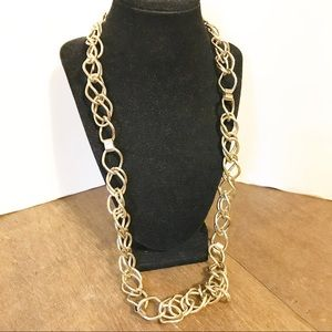 Chunky GoldTone Chain Necklace